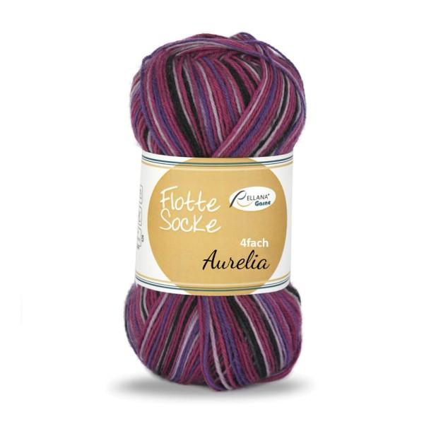 Flotte Socke 4f. Aurelia