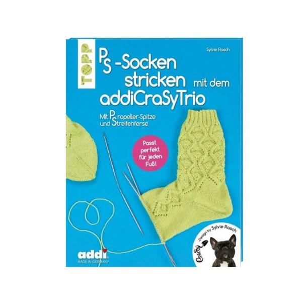 PS-Socken stricken mit dem addiCraSy Trio