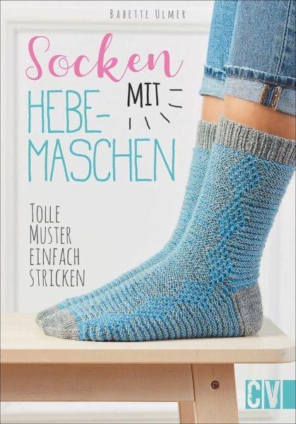 Socken mit Hebemaschen. Tolle Muster einfach stricken.