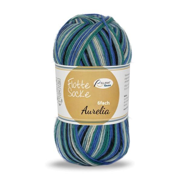 Flotte Socke 6f. Aurelia