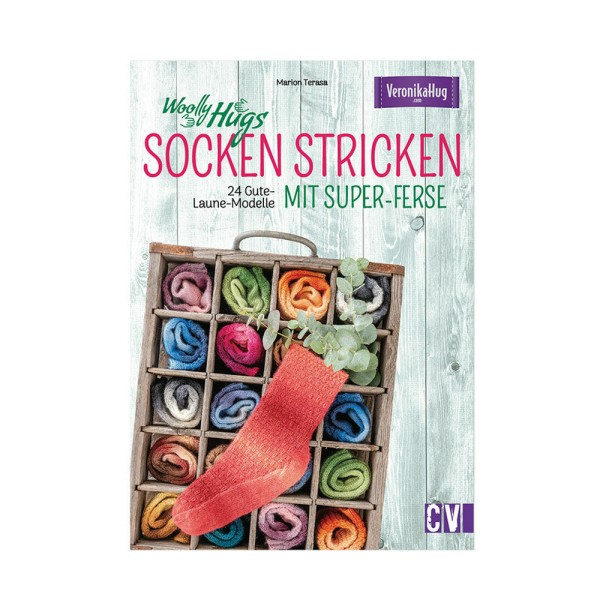 Socken Stricken mit super-Ferse