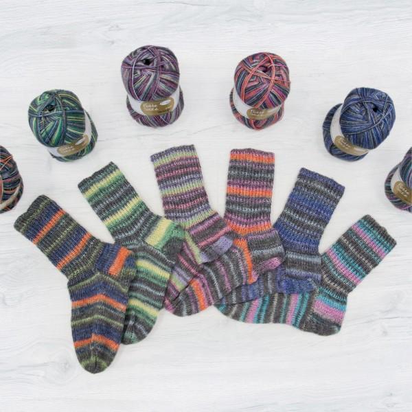 Flotte Socke 4f. Vintage Sparpaket