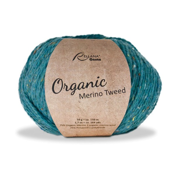 Organic Merino Tweed