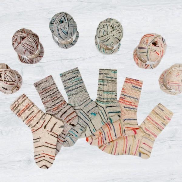 Flotte Socke 4f. Natura Sparpaket