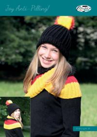 31 Joy Anti-Pilling Mütze, Loop und Schal