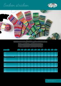 7 Grundanleitung | Socken stricken