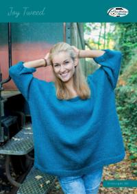 332 Joy Tweed Oversized Pulli